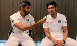 Jasprit Bumrah and Shubman Gill