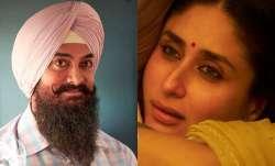Aamir Khan unveils Kareena Kapoor Khan's look from 'Laal Singh Chaddha'