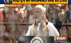 PM Modi at Motera Stadium