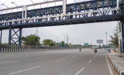 A view of the Delhi-Noida road (PTI)