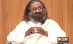 Sri Sri Ravi Shankar during his appearance on this week's