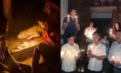 Virat Kohli, Sachin Tendulkar and other sporting heroes light 'diyas' in fight against COVID-19