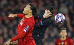 Liverpool in action against Atletico Madrid in 2019/20