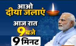 Modi, diyas, candles, Narendra Modi, COVID19