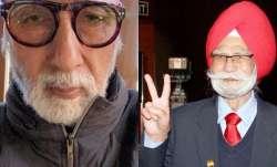 Amitabh Bachchan mourns the death of Hockey legend Balbir Singh Sr