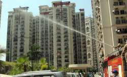 A representational image of a society in Noida
