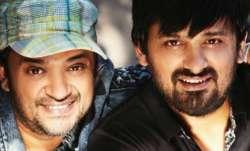 Photos of Bollywood composer Wajid Khan with brother Sajid