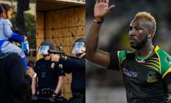 andre russell, andre russell west indies, andre russell racism, racism, racist movement, black lives
