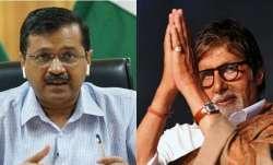 Amitabh Bachchan corona positive, Kejriwal wishes speedy recovery