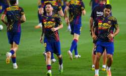 Luis Suarez opens on Lionel Messi's exit speculations and Barcelona's Champions League chances