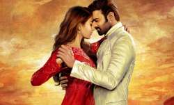 Actor Prabhas, Pooja Hegde strike a romantic dance pose on Prabhas20 first poster