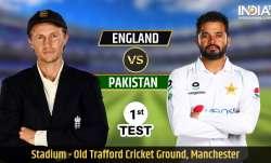 Live Streaming Cricket, England vs Pakistan 1st Test: Watch ENG vs PAK live cricket match online on