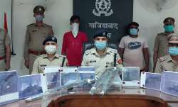 Ghaziabad police recovers large number of illegal weapons