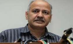 Manish Sisodia, Delhi Deputy Chief Minister Hospitalised