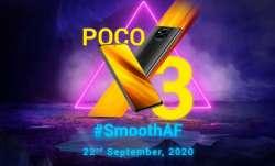 poco, poco smartphones, poco x series, poco x3, poco x3 launch in india, poco x3 launching in india