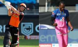 david warner, david warner jofra archer, david warner vs jofra archer, jofra archer, srh, rr, sachin