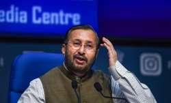 Union Environment Minister Prakash Javadekar