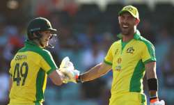 Live Cricket Score India vs Australia 1st ODI 2020: Maxwell