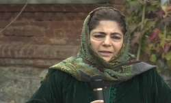 People's Democratic Party (PDP) president Mehbooba Mufti
