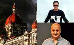 Akshay Kumar, Anupam Kher pay tribute to martyrs, victims of Mumbai Terror Attack.