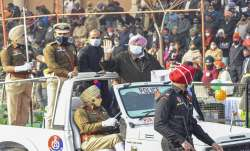 Amarinder Singh, tractor rally, tractor march