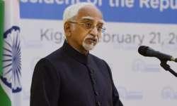 Former Vice President M. Hamid Ansari