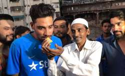File photo of Mohammed Siraj with late father Mohammed Ghaus