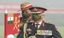 Chief of Army Staff Gen Manoj Mukund Naravan
