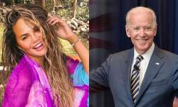 Chrissy Teigen followed by Joe Biden's POTUS on Twitter after being blocked by Donald Trump