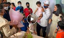 ajinkya rahane, ajinkya rahane kangaroo cake, kangaroo cake, india vs australia, ind vs aus, ind vs