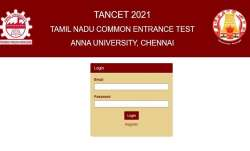 TANCET 2021: Anna University begins registration for admission to PG Courses. Direct link to apply