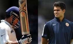 Sachin and Arjun Tendulkar