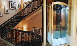 stairs, elevators