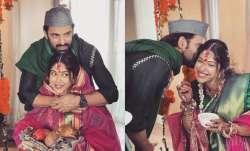 Addite Malik, Mohit Malik's traditional Maharashtrian baby shower