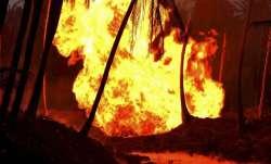 6 dead in fire at a firecracker factory near Sivakasi in