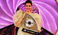 Rubina Dilaik elated after winning Bigg Boss 14 trophy, thanks fans on Instagram. Watch video