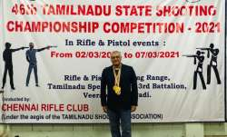 Thala Ajith wins gold at 46th Tamil Nadu State Shooting Championship Competition | WATCH