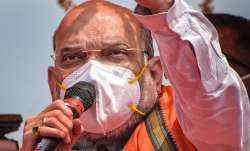 Union Home Minister Amit Shah during an election campaign