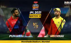 PBKS vs CSK, IPL 2021, IPL 2021 news, IPL 2021 latest news, IPL 2021 Match 8