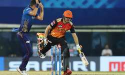 Abdul Samad of Sunrisers Hyderabad gets runout during match