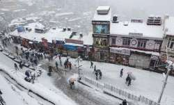 Snowfall in high reaches, rain in other parts of Himachal Pradesh