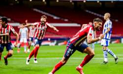 Diego Simeone's team moved closer to ending its title drought in Spain with a 2-1 home win against R