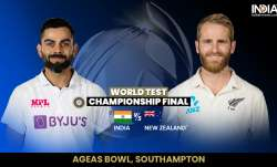 Live Cricket Score India vs New Zealand WTC Final, Day 2: Follow updates from Southampton