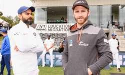 Virat Kohli and Kane Williamson