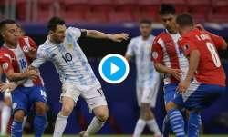 lionel messi, argentina vs parguay,