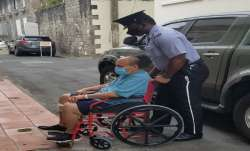The 62-year-old fugitive businessman, who fled to Antigua