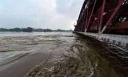 Delhi has been put on alert as the Yamuna flows above the
