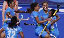 File photo of India women's hockey team.