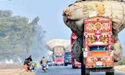 karachi sugar truck