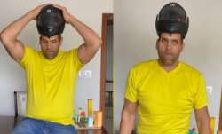 Hilarious video of The Great Khali explains why wearing helmet while riding two-wheelers is imp